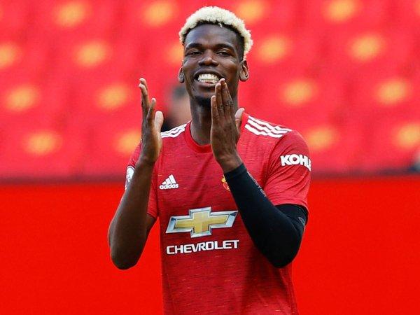 Gelandang Manchester United, Paul Pogba.