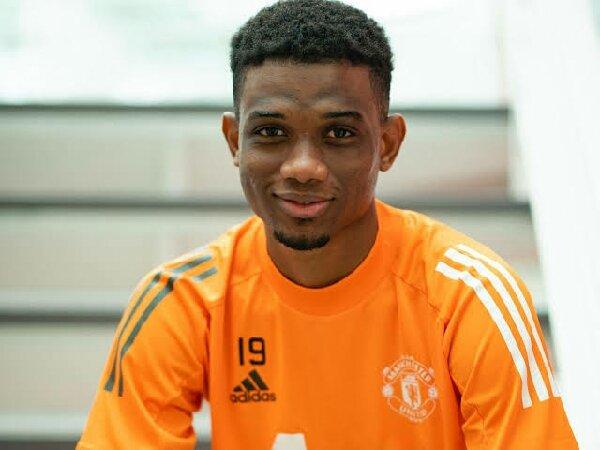 Amad Diallo dari MU, cetak gol pertama untuk timnas Pantai Gading
