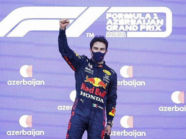 Kemenangan Sergio Perez di Baku buat Bos Red Bull sumringah.