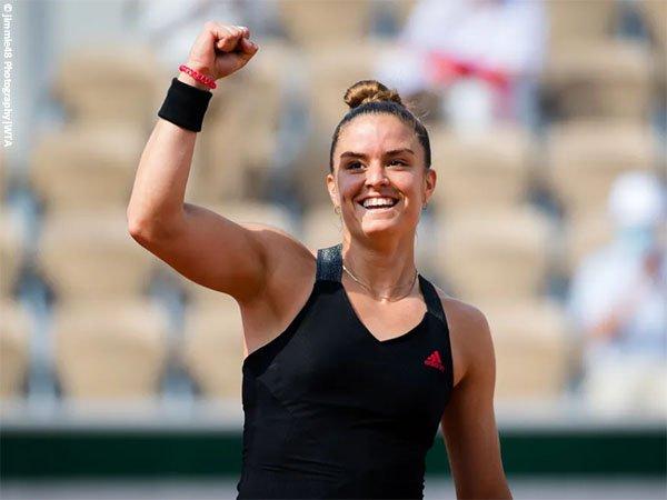 Maria Sakkari tembus perempatfinal French Open 2021