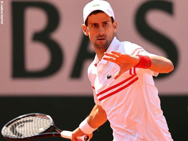 Novak Djokovic melaju ke perempatfinal French Open 2021