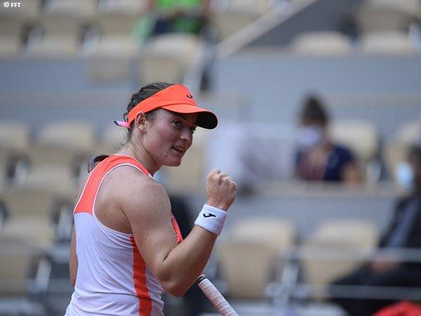 Tamara Zidansek melenggang ke semifinal Grand Slam untuk kali pertama dalam kariernya