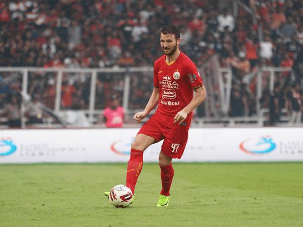 Marco Motta kembali gabung latihan Persija Jakarta
