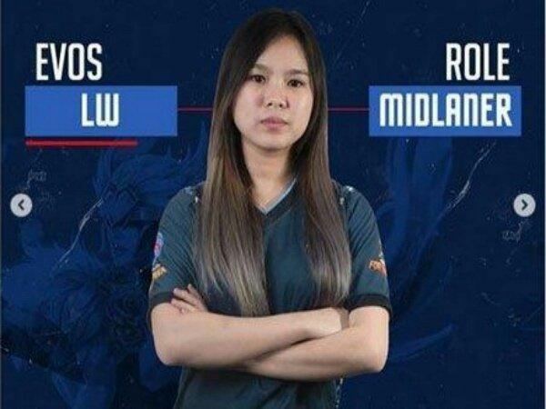 Resmi! EVOS Lynx Permanenkan Pemain Mid Laner Lia 'LW' Wijaya