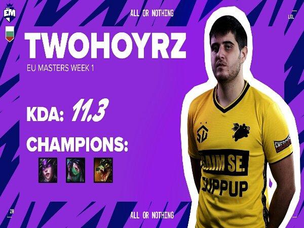 twohoyrz Gantikan Blue di SK Gaming untuk Week 1 LEC Summer Split 2021