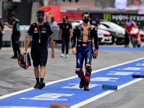 Fabio Quartararo beri sindiran keras bagi rival yang mencak-mencak atas aksinya di GP Catalunya.