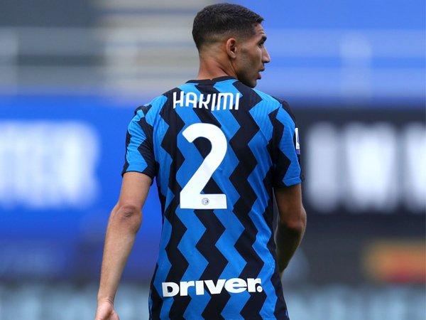 Bek sayap Inter Milan, Achraf Hakimi.