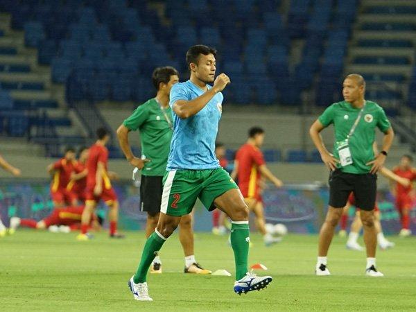 Pemain bertahan timnas Indonesia, Arif Satria