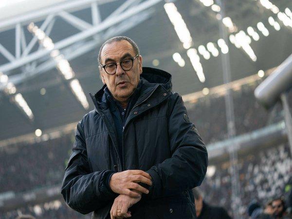 Maurizio Sarri dilaporkan sudah setuju untuk menukangi Lazio mulai musim depan / via Getty Images