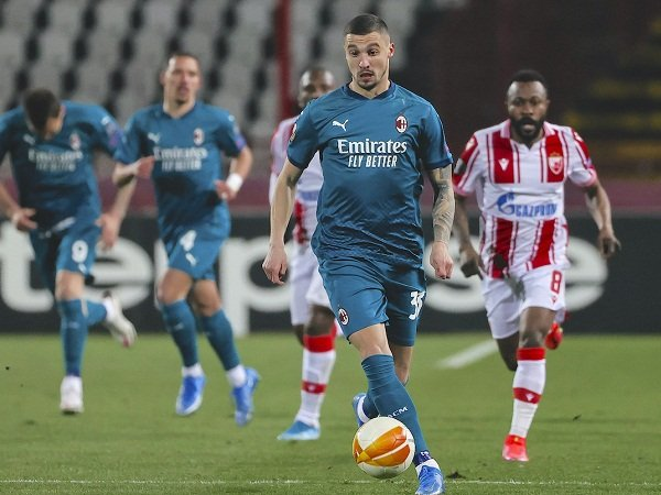Gelandang AC Milan Rade Krunic