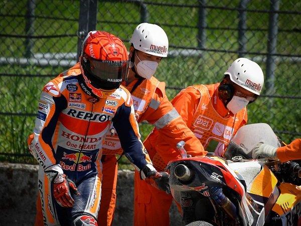 Marc Marquez kerja keras di tes pasca balap Catalunya untuk temukan masalah pada motornya.