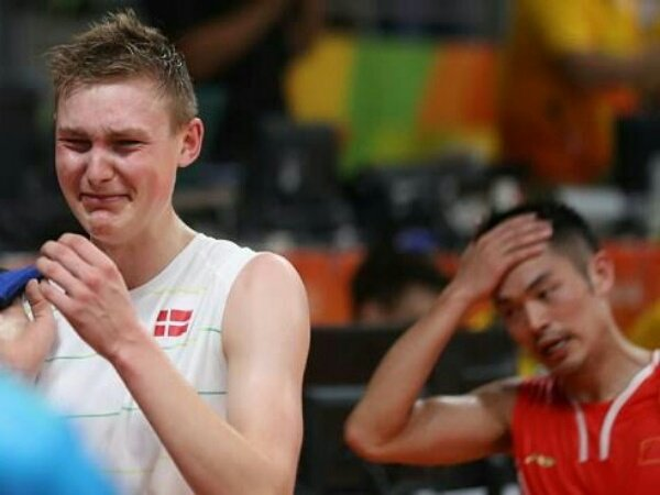 Victor Axelsen Kenang Momen Manis Kalahkan Lin Dan di Olimpiade Rio
