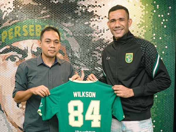 Jose Wilkson resmi jadi pemain asing kedua Persebaya Surabaya