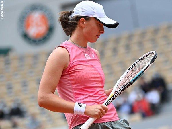 Iga Swiatek kalah di perempatfinal French Open 2021