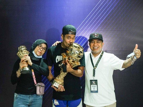 Sandy Ibrahim bangga bisa jadi juara bersama Satria Muda Pertamina.