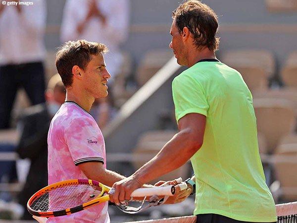 Langkah Diego Schwartzman terhenti di perempatfinal French Open 2021
