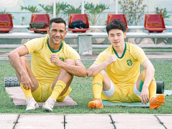Duo sahabat, Wilkson dan Taisei Marukawa yang kembali satu tim di Persebaya Surabaya