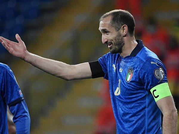 Giorgio Chiellini tak sabar berlaga di Piala Eropa 2020.