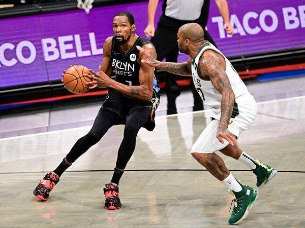 Kevin Durant sesalkan akurasi buruk Brooklyn Nets di game 3.