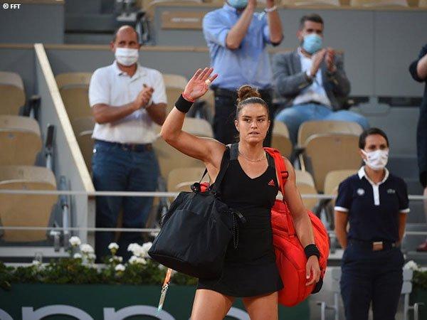 Maria Sakkari kalah di semifinal French Open 2021