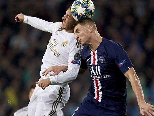 Thomas Meunier pernah disemprot Florentino Perez karena cederai Eden Hazard.
