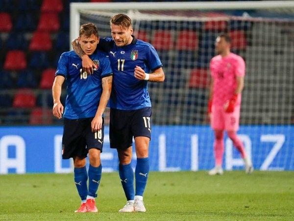 Nicolo Barella dan Ciro Immobile disebut sebagai dua pemain kunci untuk Italia.