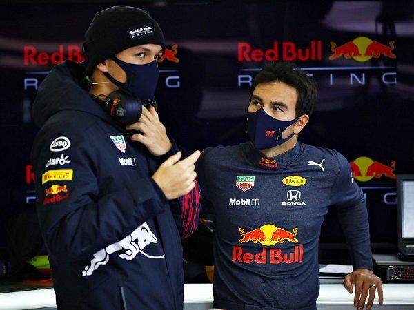 Sergio Perez bisa cepat beradaptasi karena bantuan Alex Albon.