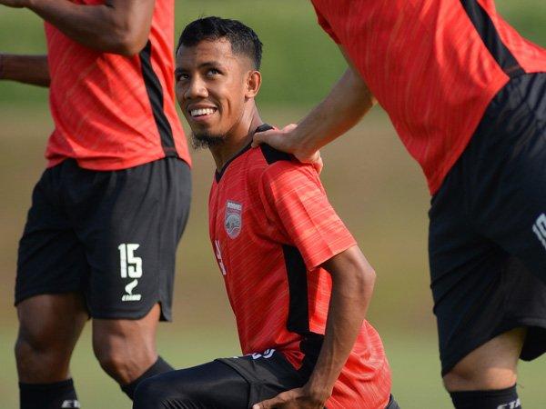 Pemain muda Borneo FC, M Sihran
