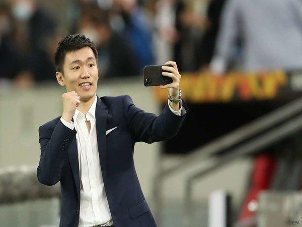 Presiden Inter Milan, Steven Zhang / via EPA