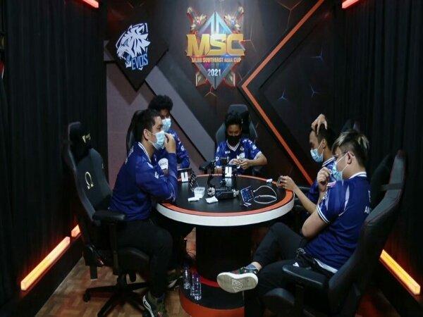 MSC 2021: Gagal Bendung Blacklist, EVOS Legends Turun ke Lower Bracket