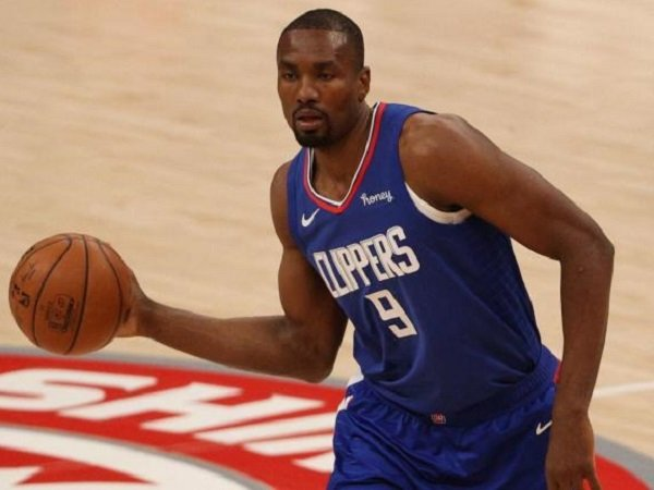 Center Los Angeles Clippers, Serge Ibaka. (images: Getty)