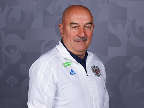 Pelatih Timnas Rusia, Stanislav Cherchesov.
