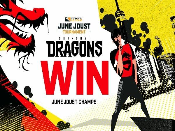 Epic Comeback atas Dallas Fuel, Shanghai Dragons Juara OWL June Joust