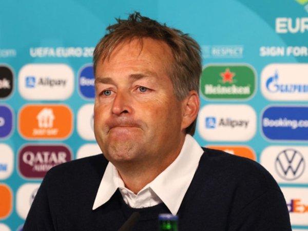 Manajer Denmark Menangis Saat Bicara Soal Insiden Christian Eriksen