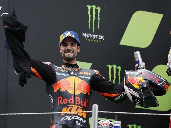 Miguel Oliveira enggan jemawa meski petik hasil positif di GP Catalunya.