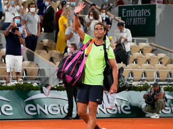 Rafael Nadal kalah di semifinal French Open 2021
