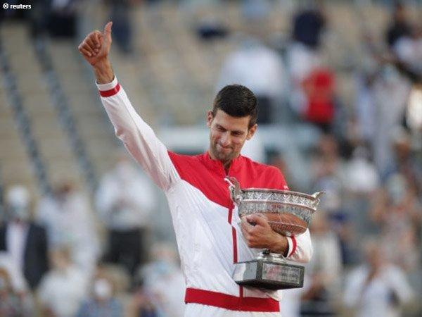 Novak Djokovic kantongi gelar Grand Slam ke-19 dalam kariernya di French Open 2021
