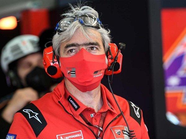 Gigi Dall'Igna enggan besar kepala bicarakan performa Ducati yang meningkat.