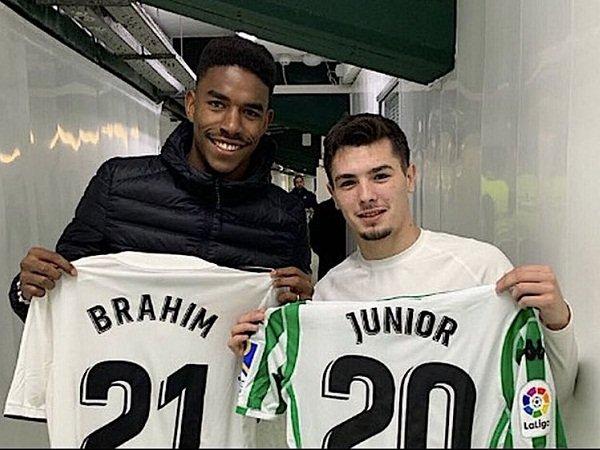 Junior Firpo dan Brahim Diaz