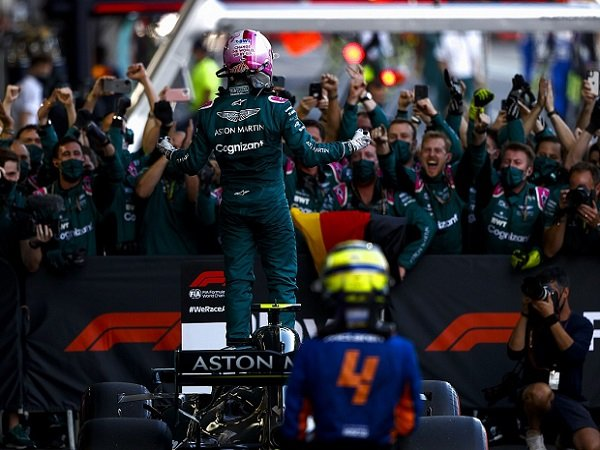 Aston Martin, Sebastian Vettel