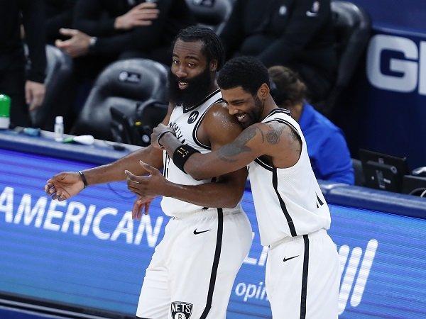 James Harden dan Kyrie Irving dipastikan absen di game kelima untuk Brooklyn Nets.