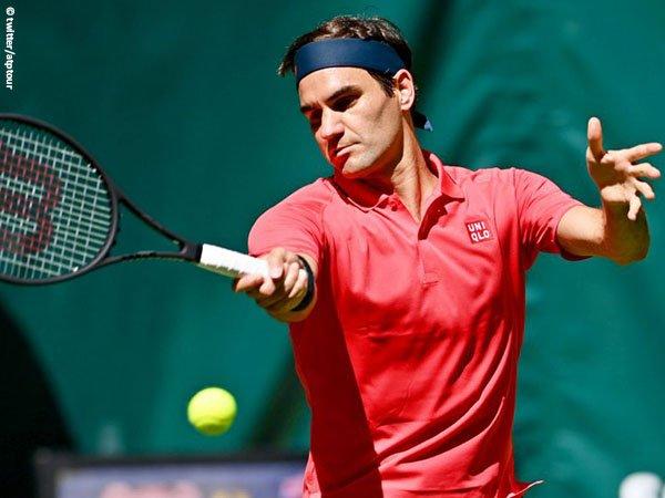 Roger Federer incar gelar ke-11 di Halle Open musim 2021