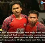 Jadi Pasangan Raih Medali Emas. Hendra Setiawan: Terima kasih, Markis Kido!