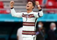 Cetak Dwigol, Cristiano Ronaldo Pecahkan Rekor Gol di Piala Eropa