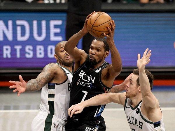 Kevin Durant inisiatif bermain tanpa istirahat di game 5 versus Milwaukee Bucks.