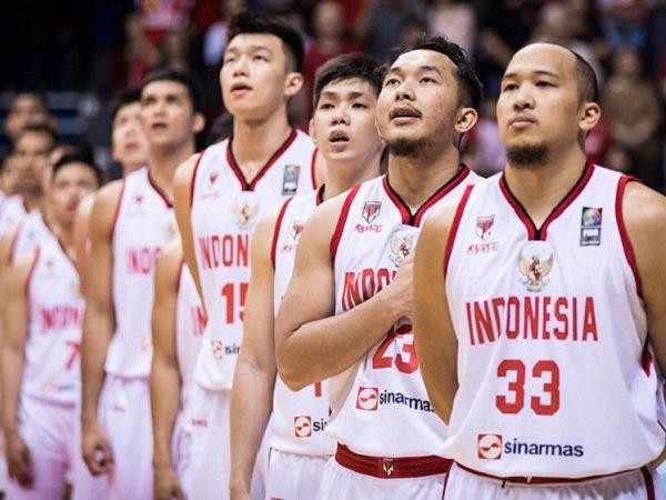 Skuat Timnas Basket Indonesia.