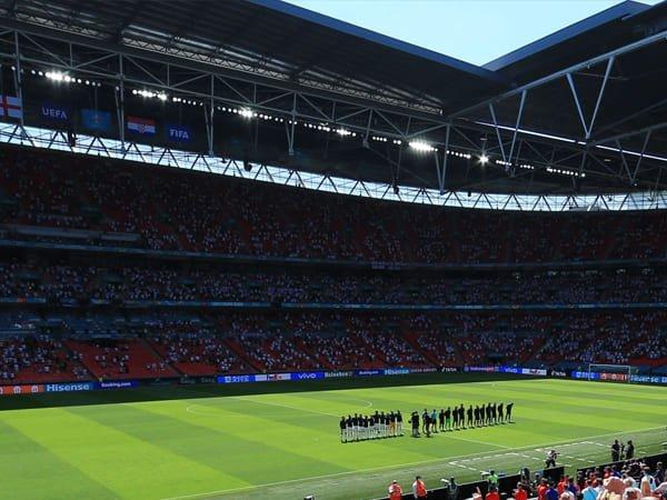 Wembley Akan Tambah Jumlah Penonton di Tahap Akhir Euro 2020