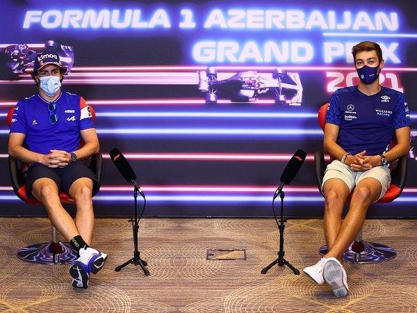 George Russell tuai pujian besar dari sosok Fernando Alonso.