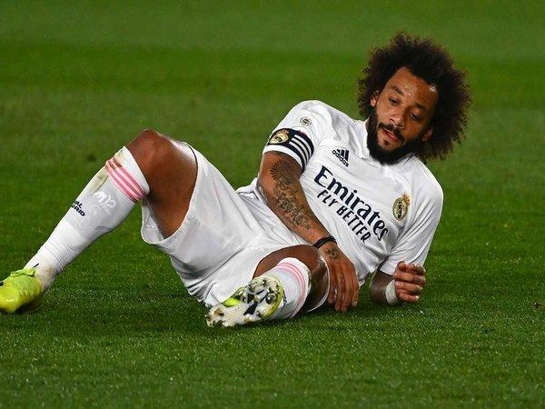 Kepergian Sergio Ramos membuat Marcelo menjadi kapten non-Spanyol pertama Real Madrid sejak tahun 1904 / via Getty Images
