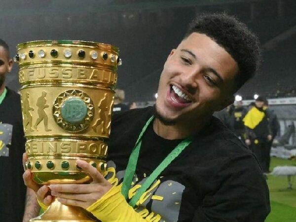 Negoaiasi transfer Jadon Sancho antara MU dengan Borussia Dortmund tengah terhenti